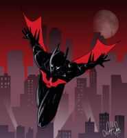 Batman Beyond by scottssketches