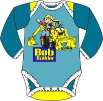 Bob the Builder baby onesies by Drew0b1