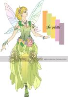 Spring Faerie Design by Lillyxandra