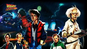 Back to the Future game Wall by mattsimmo