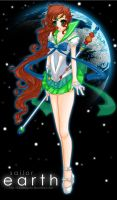 Sailor Earth by KikaiSaigono