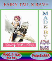Fairy Tail X Rave - Anime icon by azmi-bugs