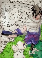 Sasuke shippuden 6 by Salvo91