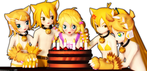 [MMD] Happy Birhtday Milly-Sama! by KokoneAkita