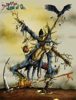 Scarecrow by clv