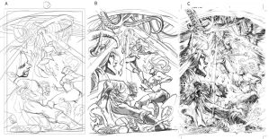 Layout to FInish pencils by sjsegovia