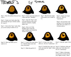 TieWolf's Eye Tutorial by TieWolf