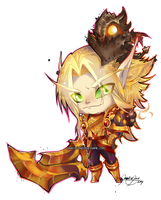 :Commission: Chibi Rivass by Miladymorigane