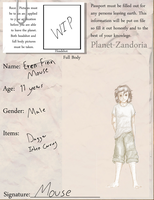 Zandoria - Mouse by TalonV