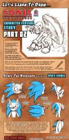 Let's Draw Sonic Archie .:02:. by darkspeeds