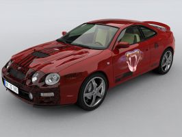 Toyota Celica GT4 by adit1001