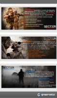 banners for an airsoft event by grazrootz
