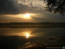Golden Sunset  2 Tychy by Proteusz