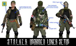 S.T.A.L.K.E.R. Alternative Loner Setup UPGRADED by DrJorus