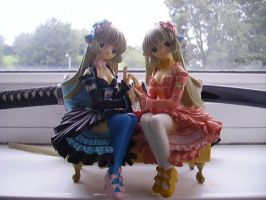 Chobits - Chii and Freya Model by TokioDesigns
