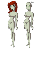 DCAU - Poison Ivy Base by juanito316ss