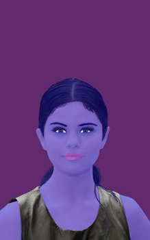 Selena Gomez Color Change Contest Entry by aggroh
