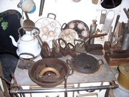 Old household items stock by ValerianaSTOCK