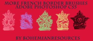 More French Border Brushes by BohemianResources