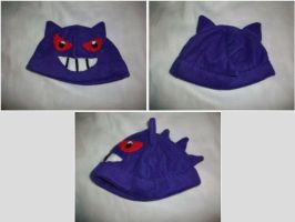 Gengar Hat by CelloManLove