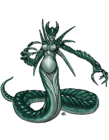 SPB: Echidna - Mother of Monsters by ProdigyDuck