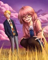 Beyond the Boundary by TaiyakiDesu