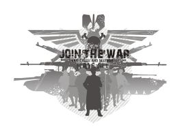 join the war _white_ by masacrar