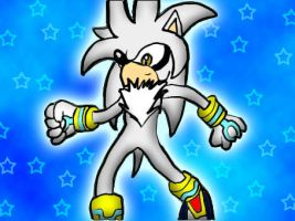 Silver the Hedghog's bright by DiamondTheMaster