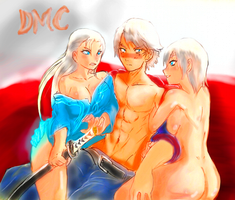 Dmc 4 Gender flip by JMichaelReyes