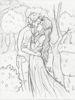 WIP: Summer and her Winter by Ara-bell