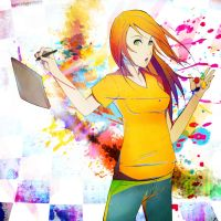 A Dab of Colour by NarutoLover6219