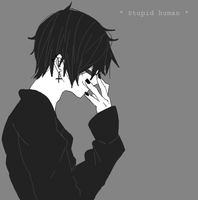 Damien - Stupid Human by Iggy-Taxidermy
