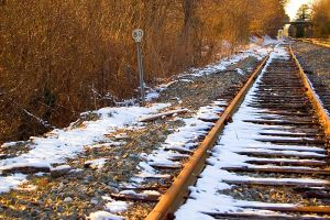 Snowy tracks by the-square-root-of-3