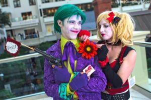 Katsucon 2015 - Jester and Clown(PS) 02 by VideoGameStupid