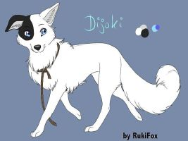Dijoki female dog by RukiFox