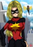 Ms Marvel and Wasp by FenRox