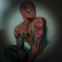 Spider Man WIP by celsohenrique