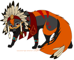KF: Feathers n' Beads by KaiserTiger