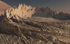 Fractal Terrain: Crater 2 by ExtremeProjects