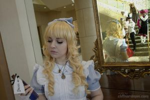 The Reflection of the Looking Glass by Glass-Rose-Prince