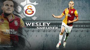 Wesley Sneijder Wallpaper by fatihdmrg
