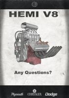 Hemi V8 Ad by V8-Custom-Designs