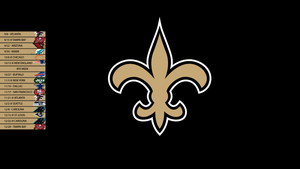 New Orleans Saints 2013 Schedule Wallpaper by SevenwithaT
