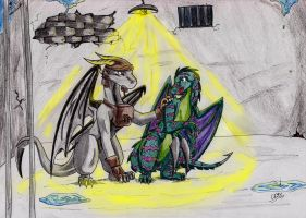 Com dinorenk and TRD3 by ChibiMieze