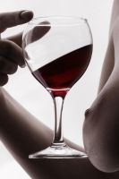red wine by Floriandra