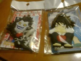 L Aand Ryuk Keyring by ShadowRocker3000