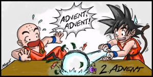 DragonBall - ADVENT ADVENT by NaguX