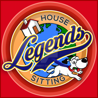 Logo design for House Legends Sitting by argie07
