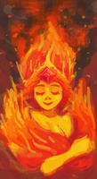 Flame by Xaiena
