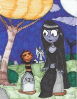 A Little Halloween by Millie-the-Cat7